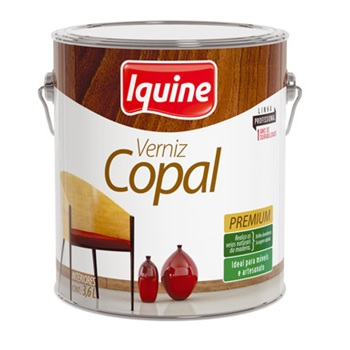 Verniz Brilhante Copal 3,6 Litros - Ref.20100101 - IQUINE