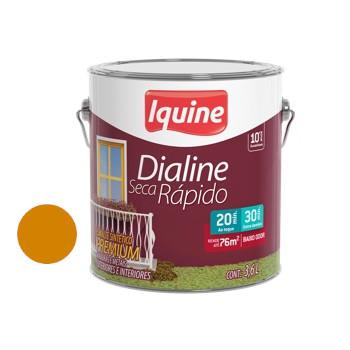 Esmalte Brilhante Dialine Secagem Rápida Premium Amarelo Cartepillar 3,6 Litros - Ref.62205801 - IQUINE