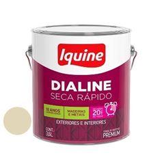 Esmalte Brilhante Dialine Secagem Rápida Premium Areia 3,6 Litros - Ref.62201501 - IQUINE