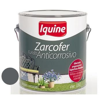Fundo Sintético Dupla Ação Anticorrosivo Zarcofer Cinza 3,6 Litros - Ref. 21200401 - IQUINE