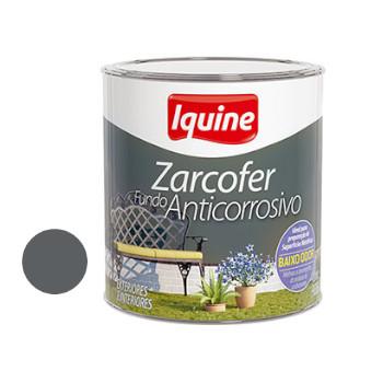 Fundo Sintético Dupla Ação Anticorrosivo Zarcofer Cinza 900ml - Ref. 21200404 - IQUINE