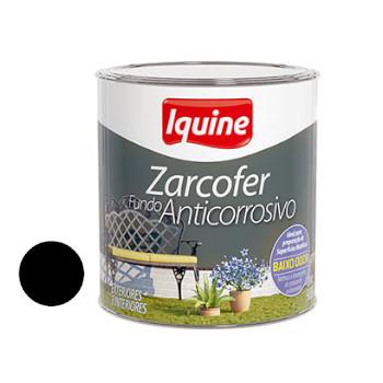 Fundo Sintético Dupla Ação Anticorrosivo Zarcofer Preto 900ml - Ref. 21205704 - IQUINE