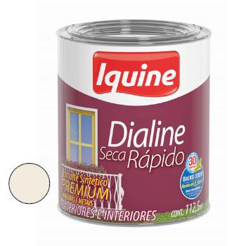 Esmalte Brilhante Dialine Secagem Rápida Premium Branco Gelo 112,5ml - Ref. 62200332 - IQUINE