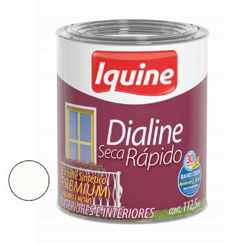 Esmalte Brilhante Dialine Secagem Rápida Premium Branco Neve 112,5ml - Ref.62200232 - IQUINE