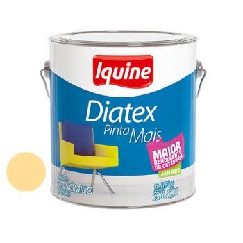 Tinta Vinil Acrílica Diatex Amarelo Canário 3,6 Litros - Ref.50302201 - IQUINE