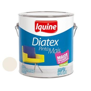 Tinta Vinil Acrílica Diatex Branco Gelo 3,6 Litros - Ref.50300301 - IQUINE