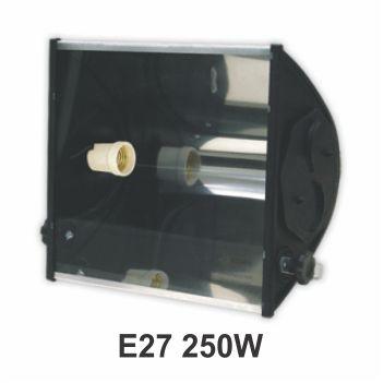 Refletor Alumínio 250w E27 TA250 Preto - Ref. 02070007-03 - TASCHIBRA