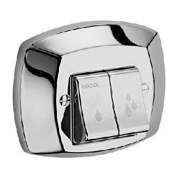 Acabamento de Válvula Metal Clássica Salvagua Cromado - Ref.00451106 - DOCOL