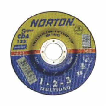Disco de Desbaste Aço 4.1/2 Polegadas CDA 123 Multiuso - Ref.66252931339 - NORTON