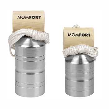 Prumo Aço Parede 500g - Ref. 608055 - MOMFORT