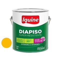 Tinta Acrílica Fosca Diapiso Amarelo Demarcação 3,6 Litros - Ref.88311801 - IQUINE