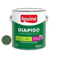 Tinta Acrílica Fosca Diapiso Verde Folha 3,6 Litros - Ref.88303401 - IQUINE