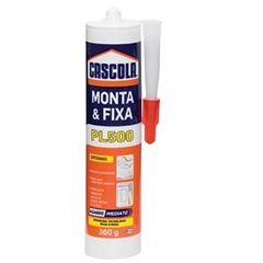 Adesivo Multiuso Monta e Fixa PL500 360g - Ref. 1406600 - CASCOLA