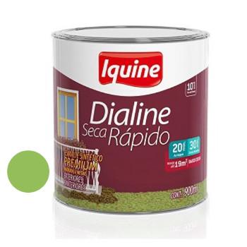Esmalte Brilhante Dialine Secagem Rápida Premium Verde Limão 900ml - Ref.62214404 - IQUINE