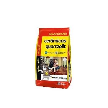 Rejunte Flexível Saco Com 5kg Palha - Ref.0107.00045.0030FD - QUARTZOLIT