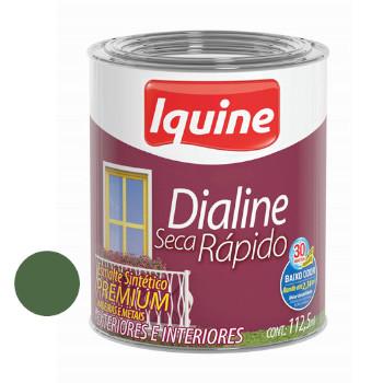 Esmalte Brilhante Dialine Secagem Rápida Premium Verde Folha 112,5ml - Ref.62203432 - IQUINE