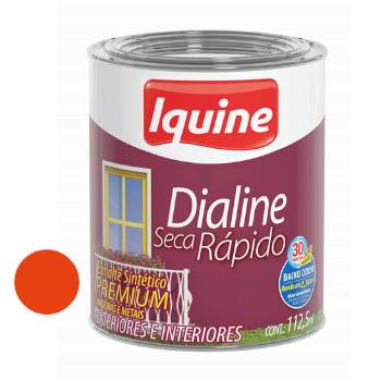 Esmalte Brilhante Dialine Secagem Rápida Premium Laranja 112,5ml - Ref.62204432 - IQUINE