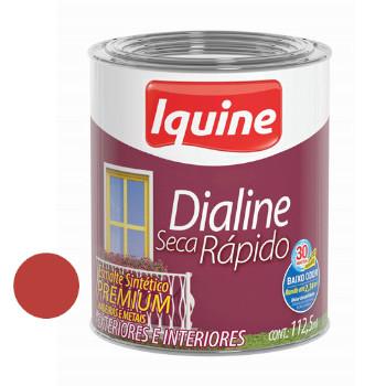Esmalte Brilhante Dialine Secagem Rápida Premium Vermelho 112,5ml - Ref.62204532 - IQUINE