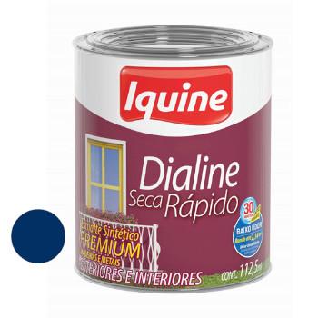 Esmalte Brilhante Dialine Secagem Rápida Premium Azul Del Rey 112,5ml - Ref.62204832 - IQUINE