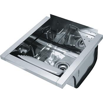 Tanque de Fixaçãoo Inox com Válvula 430 47,5x44x29cm Espelhado - Ref. 10849 - FRANKE