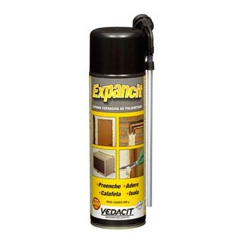 Espuma Poliuretano Expancit 500ml Spray - Ref.140033 - VEDACIT