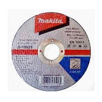 Disco de Corte 4.1/2 Polegadas para Metal - Ref. D-19928-10 - MAKITA