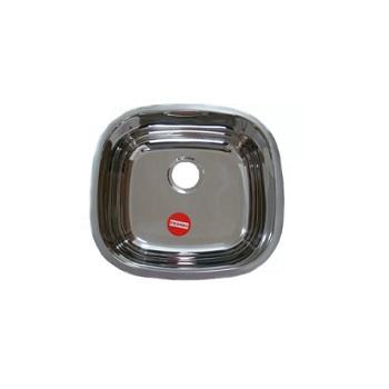 Cuba de Embutir Inox 37 X 34 X 15 Quadrada / Alto Brilho Rv - Ref.50093 - FRANKE