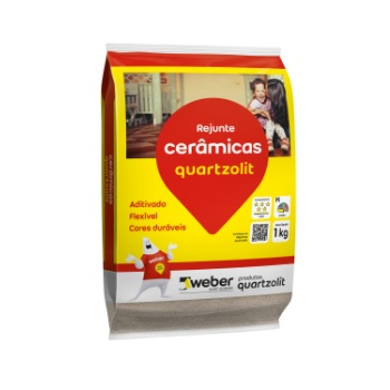 Rejunte Flexível Saco15kg Caramelo - Ref.0107.00015.0015FD - QUARTZOLIT