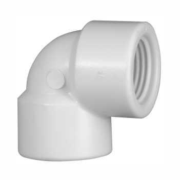 Joelho Roscável PVC 1/2 90G - Ref.0256 - KRONA