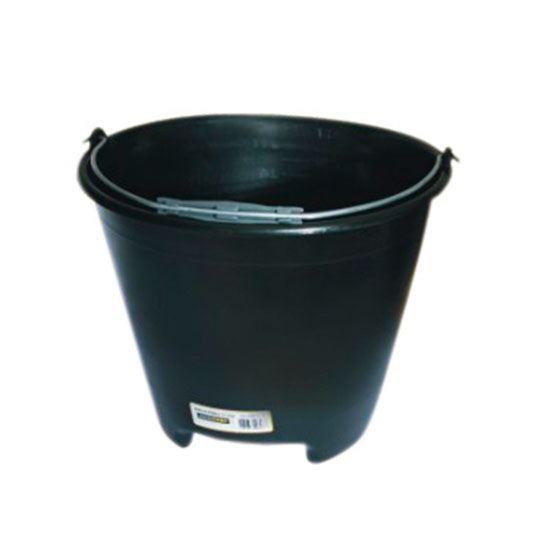 Balde Plástico Para Construção Preto 12 litros - Ref. 420012 - MOMFORT