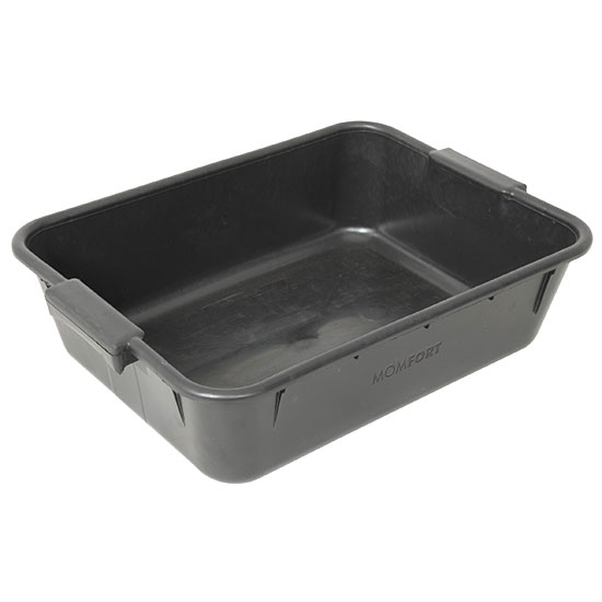 Caixa De Massa Plástica Para Construção Preta - Ref.420000 - MOMFORT