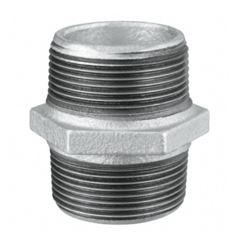 Niple Duplo Roscável Galvanizado 3/4 - Ref.123800633 - TUPY