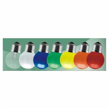 Lâmpada Incandescente 15w 220v Decorativa Amarela E27 - Ref. 11050020 - TASCHIBRA