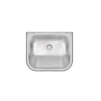 Tanque de Parede com Valvula Inox 50x40x27cm Acetinado - Ref. 94401/107 - TRAMONTINA