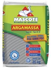 Argamassa ACIII Interna e Externa Saco com 20kg Cinza Ref.515 - MASCOTE