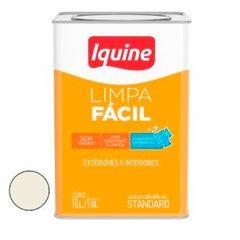 Tinta Acrílica Semibrilho Limpa Fácil Branco Gelo 18 Litros - Ref.25300305 - IQUINE