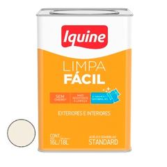 Tinta Acrílica 18 Litros Semibrilho Limpa Fácil Branco - Ref.25300205 - IQUINE