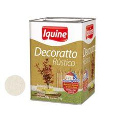 Texturizado 29kg Acrílico Rústico Decoratto Branco Gelo - Ref.46300305 - IQUINE