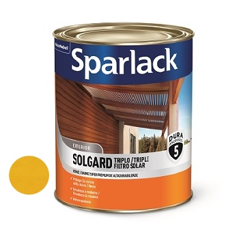 Verniz Acetinado Triplo Filtro Solar Natural 900ml - Ref. 5203100 - SPARLACK