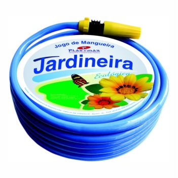 Mangueira PVC 1/2 15m Jardim Ecoflex Azul - Ref.621 - PLASTMAR