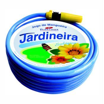 Mangueira PVC 1/2 30m Jardim Ecoflex Azul - Ref.630 - PLASTMAR