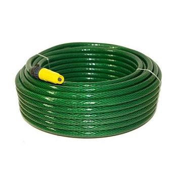 Mangueira PVC 1/2 10m Jardim Superflex Verde - Ref.650 - PLASTMAR