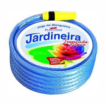 Mangueira PVC 1/2 15m Jardim Superflex Azul - Ref.636 - PLASTMAR