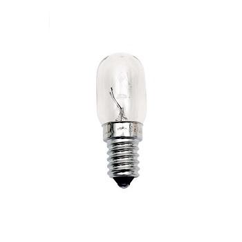 Lâmpada Incandescente 15w 220v para Geladeira e Micro-ondas Tubular E14 - Ref. 11050002 - TASCHIBRA