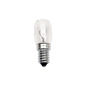 Lâmpada Incandescente 15w 220v Geladeira/Micro-ondas Tubular E14 - Ref. 11050002 - TASCHIBRA
