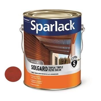 Verniz Acetinado Triplo Filtro Solar Mogno 3,6 Litros - Ref. 5203139 - SPARLACK