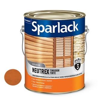 Verniz Brilhante 3,6 Litros Neutrex Castanho Avermelhado - Ref.5203070 - SPARLACK