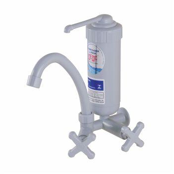 Purificador de Água ABS Pratico Branco Torneira Bica Móvel - Ref. 2886 - HERC