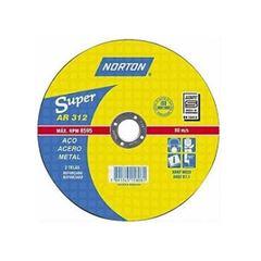 Disco de Corte 14 Polegadas em Aço Super AR312 - Ref. 66252843695 - NORTON