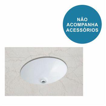 Cuba de Embutir Oval 30x39cm Branco - Ref.1101190017300 - CELITE